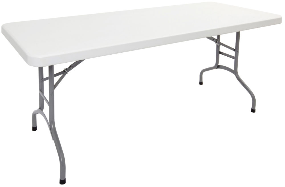 poly folding table  u2022 rapidline